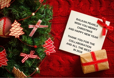 Happy Holidays from Balkan Pearls!!!